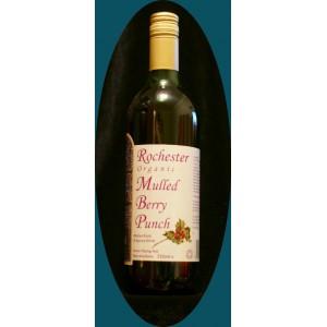 Rochester Organic Mulled Berry Punch Безалкогольный Ягодный пунш со специями - 245 мл