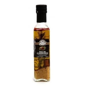 Оливковое масло Delphi  экстра виржин с ароматическими травами, 0,25 л, стекло