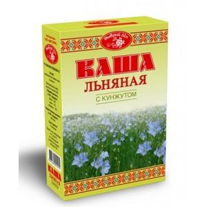"Каша льняная с кунжутом, ""Масляный Король"", 400 г., коробка"