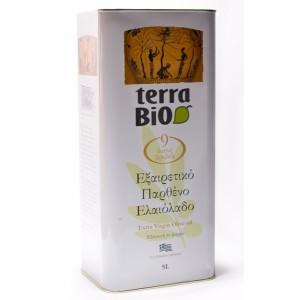 АКЦИЯ! Оливковое масло Terra Bio, 5 л