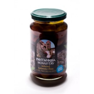 Оливки греческие Каламата монастырские — 370 гр
