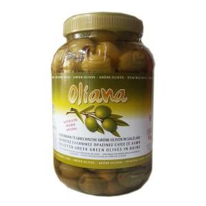 Оливки греческие Халкидики, без косточек, 1,62 кг