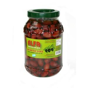 Оливки греческие Каламата, с косточкой, PREMIUM 3,3 кг