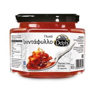 Лепестки розы в сахарном сиропе Delphi — 453 гр