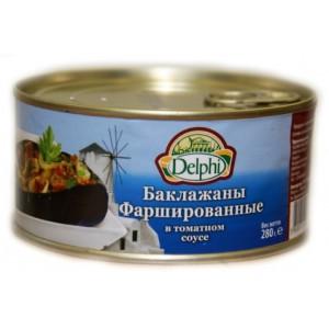 Баклажаны фаршированные в томатном соусе - 280 гр