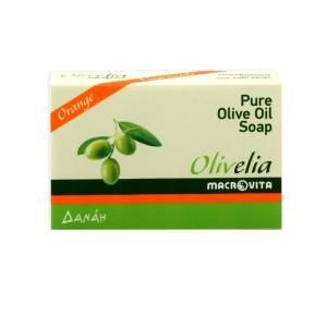 Оливковое мыло с апельсином Olivelia Orange — 100гр