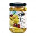 Артишоки в масле с сушеными томатами и маслинами Каламата — 270 гр