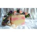 Мыло ручной работы, Розовое небо - 90-120 гр.