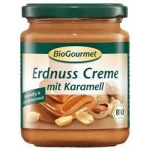 Био арахисовая паста с карамелью BioGourmet, 250 гр.