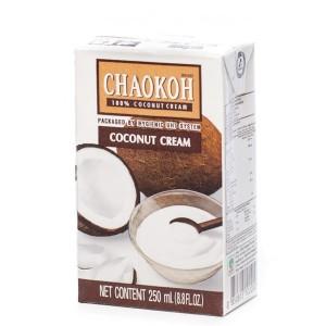 Кокосовые сливки Chaokoh, 250 мл, тетрапак