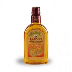 """Масло грецкого ореха, """"Масляный Король"""", 0,5 л, стекло"""