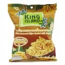 Кокосовые чипсы с карамелью King Island 40 гр