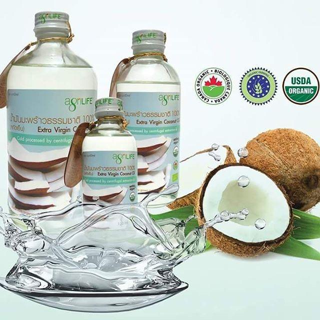Кокосовое масло натуральное органическое Agrilife